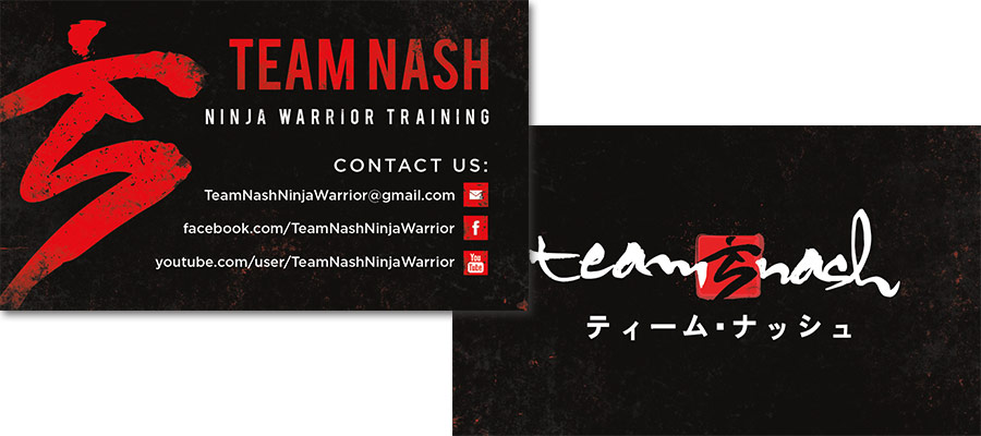 Team NASH business cards