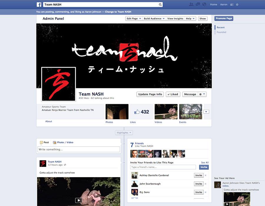 Team NASH facebook