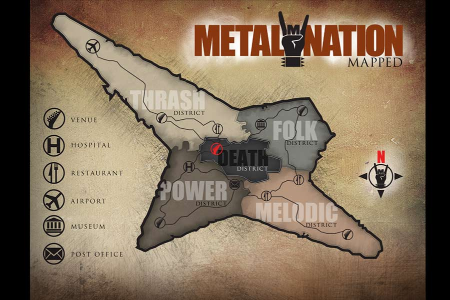 Metal Nation map