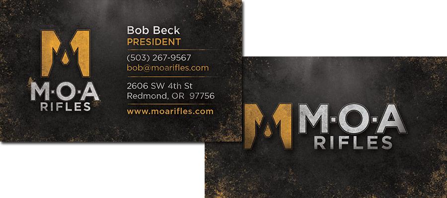 MOA Business Card