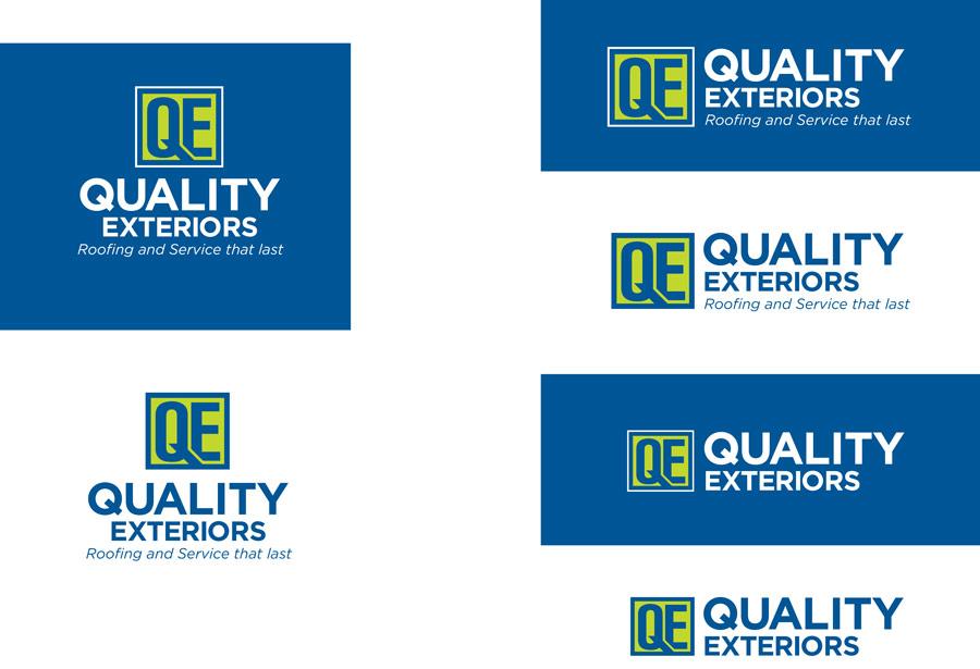 QE logo design