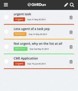 to do app screenshot